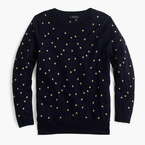 J. Crew Sweaters - J. Crew Tippi Sweater in Embroidered Stars XXS